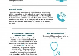 Get to Know Telemedicine Infographic
